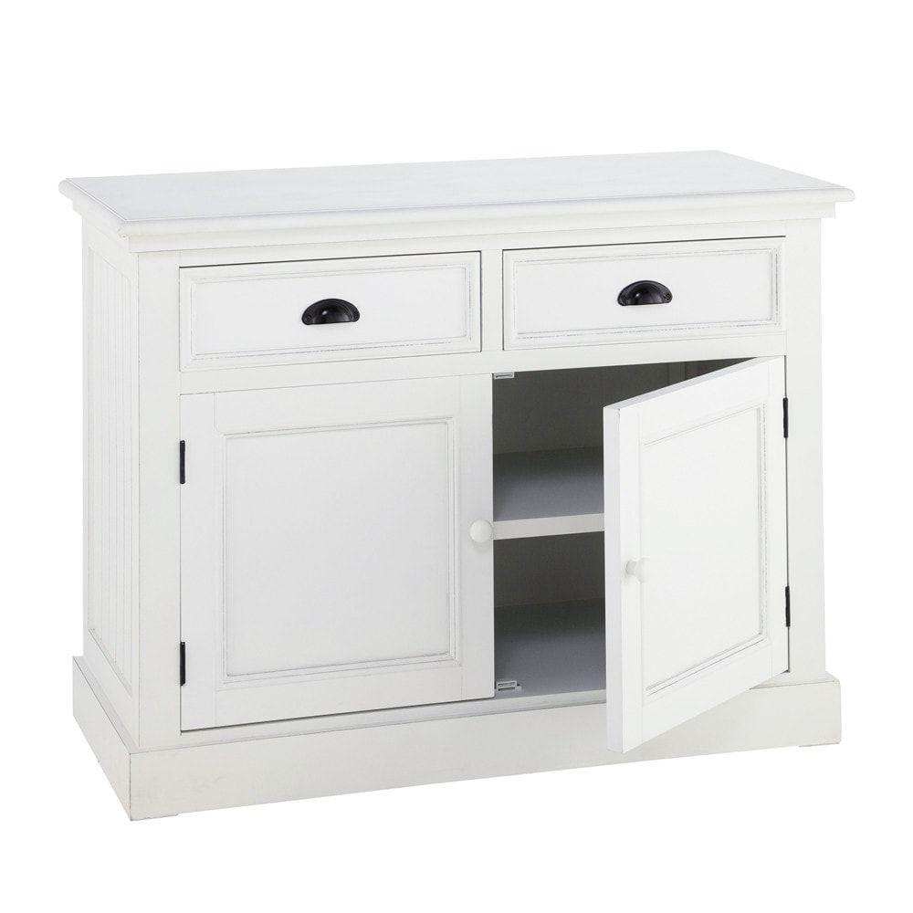 Anrichte aus Holz, B 106 cm, weiß | Home & Interior | Pinterest ...
