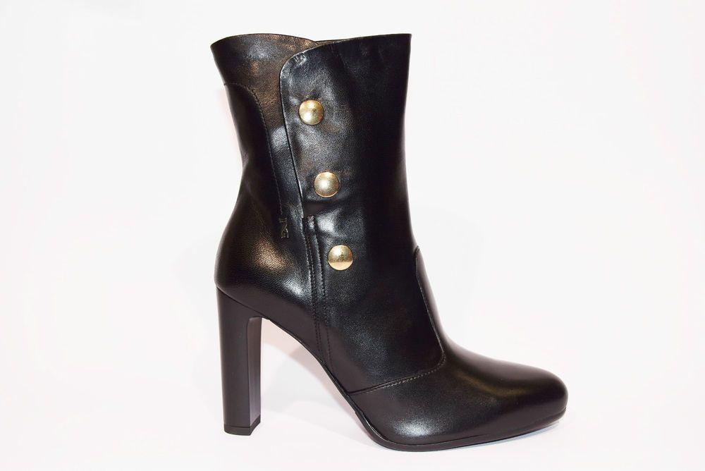 nero 6047N stivaletti boots women 35 donna PRADA tronchetto rr8BY