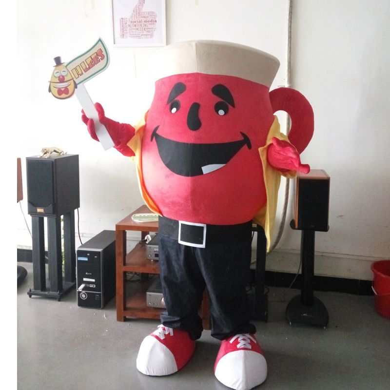Click To Buy Ohlees Custom Made Customized The Kool Aid Man Teapot Mascot Costumes For Halloween Party Halloween Costumes Mascot Costumes Halloween Party