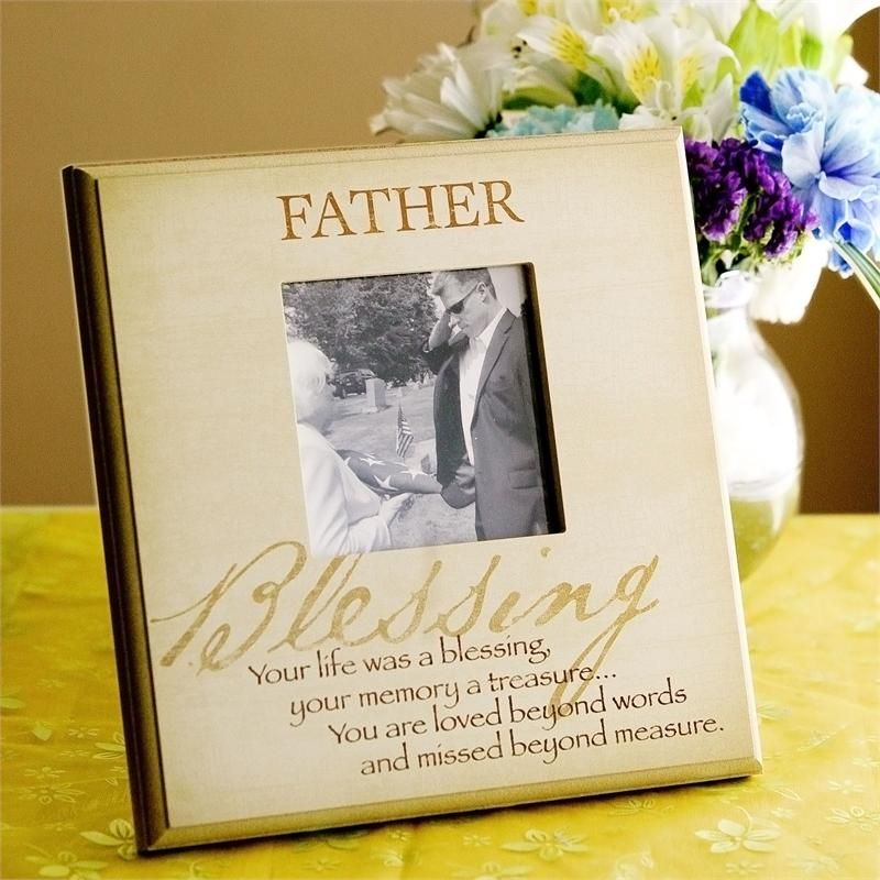 the loss of a father poem loss of father sympathy remembrance frame