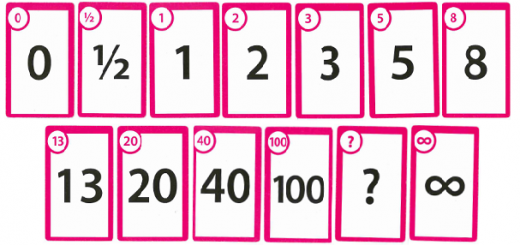Planning Poker My Agile Space Planning Poker Poker Cards Card Template