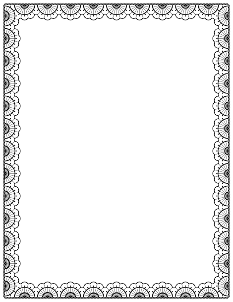 a black lace page border free downloads at http pageborders org
