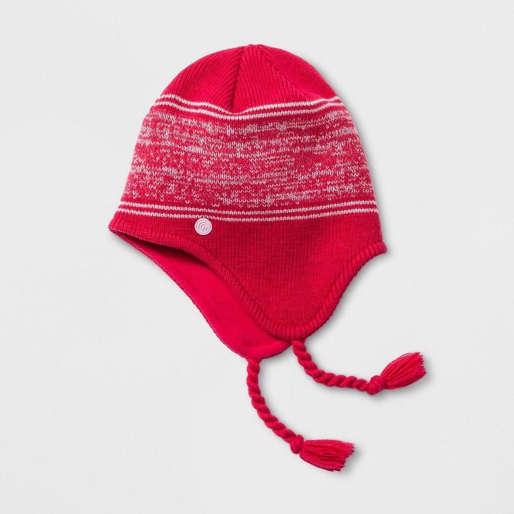 ... germany girls marled stripe peruvian hat c9 champion pink one size  c70a2 10758 shop mens ... 047b4fd1f430