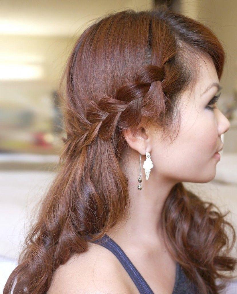 Peinados faciles con ondas