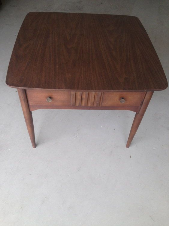 Vintage Mid Century Modern Bassett Side Table In 26 30 New Jersey 124,  Morristown, NJ 07960, USA ~ Apartment Therapy Classifieds