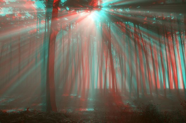 Amazing pop | Incredible Anaglyph 3D! | Pinterest