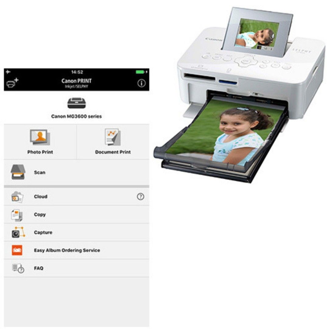 Canon printer What is a Canon Print Inkjet/Selphy App