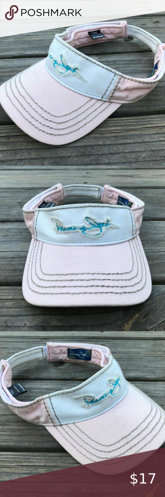 Panama Jack Women Visor Hat Cap Pink White Sport V Women S Visor Hats Visor Hats Pink White