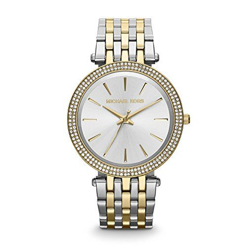 Michael Kors MK3215  Womens Watch Stainless Steel inox Color multiColor >>> Check out the image by visiting the link.