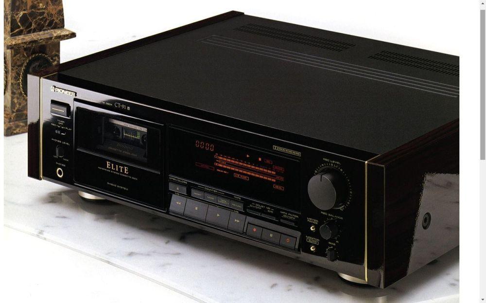 Reference Master Elite Pioneer Ct 91 1988 Pioneer Audio Pioneer Decks Hifi Audio