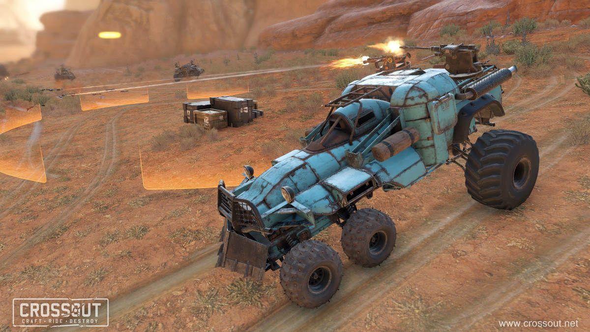 Crossout Raids Get Overhauled and April Fools Event