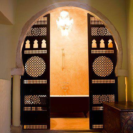Une salle de bains tunisienne traditionnelle | Idées deco ...