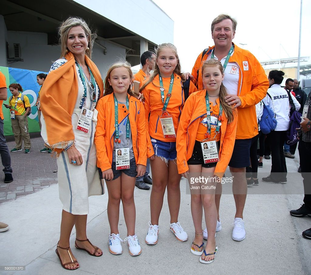 Queen Maxima Of The Netherlands King Willem Alexander Of The