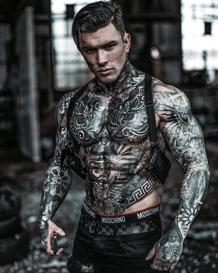 Pin on Men Tattooed