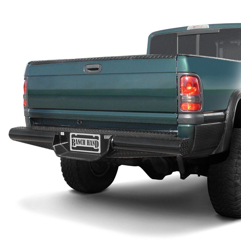 Ranch Hand Legend Series Full Width Black Powder Coat Rear Hd Bumper Bumpers Suv Accessories Truck Accessories