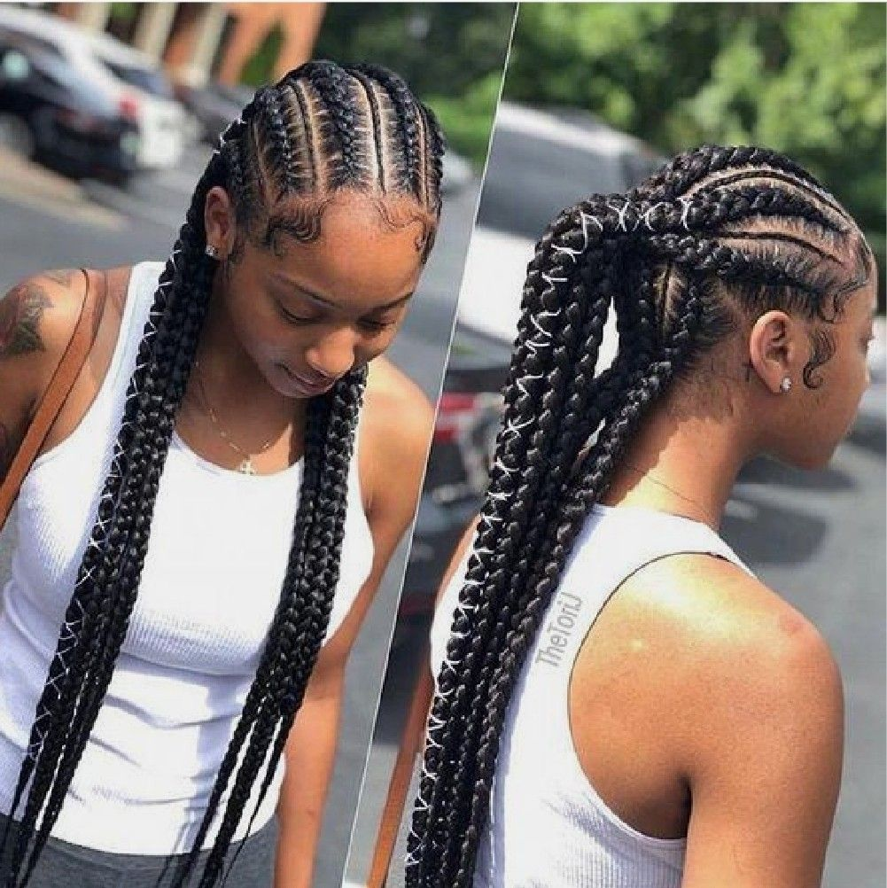 Trending Ghana Weaving Styles Kids Braided Hairstyles Hair