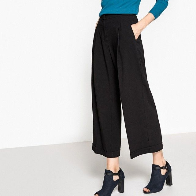 d3f5fe45e56 Pantalon large 7 8 La Redoute Collections