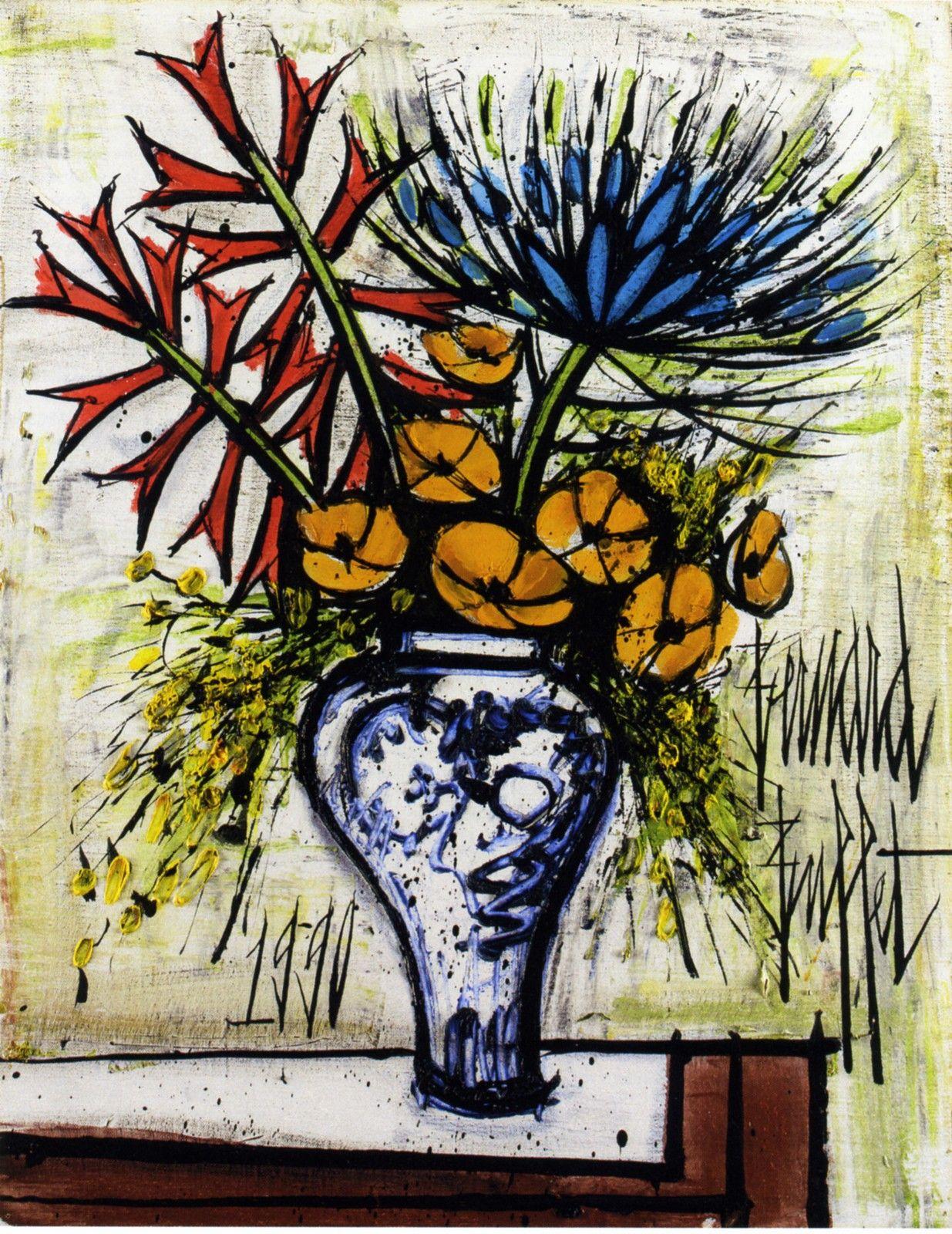 Buffet Bernard-2 | Peinture artistique, Art français, Peintures florales