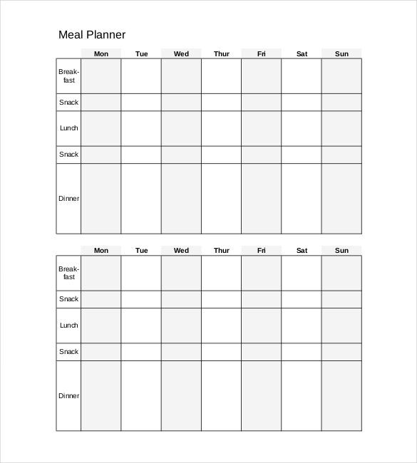 Daily Planner Template - 16+ Free Word, Excel, PDF Documents - daily planner sample