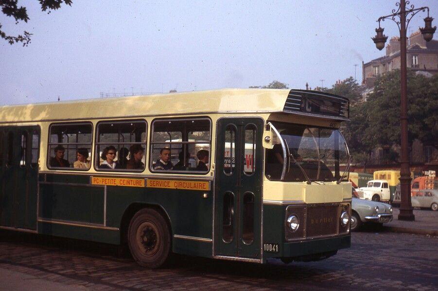 SAVIEM bus de ville