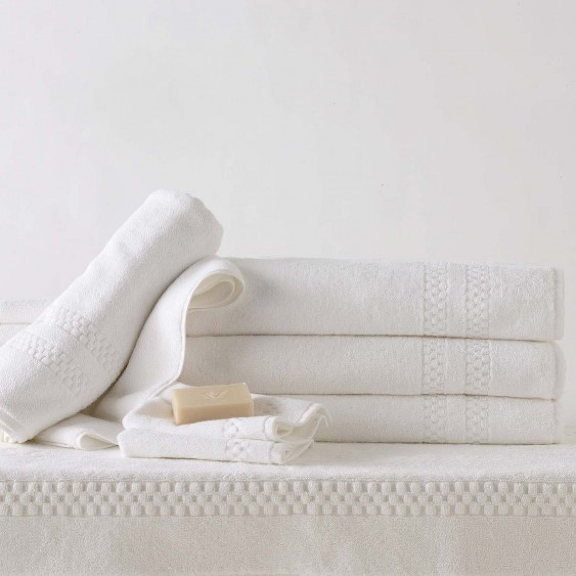 Frette Towel Set: Nothing Beats Basic, Soft White Towels (like These From