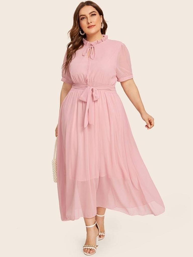Pink Maxi Dress Plus Size Dresses Pink Maxi Dress Summer Fashion Dresses [ 1024 x 769 Pixel ]