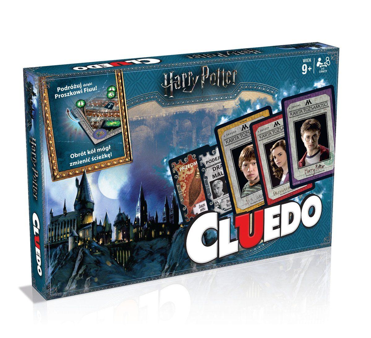 Winning Moves Gra Logiczna Cluedo Harry Potter Harry Potter Games Harry Potter Cluedo Mystery Games
