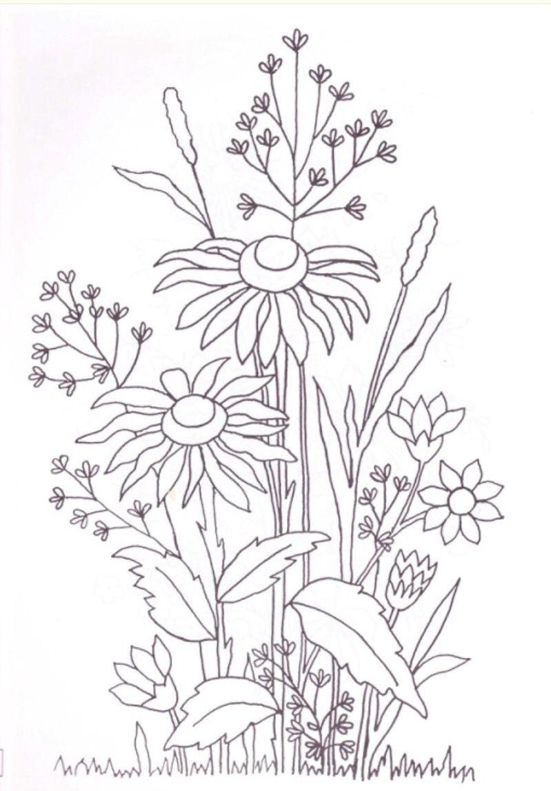 Patrones bordado a mano | bordado | Pinterest | Embroidery ...
