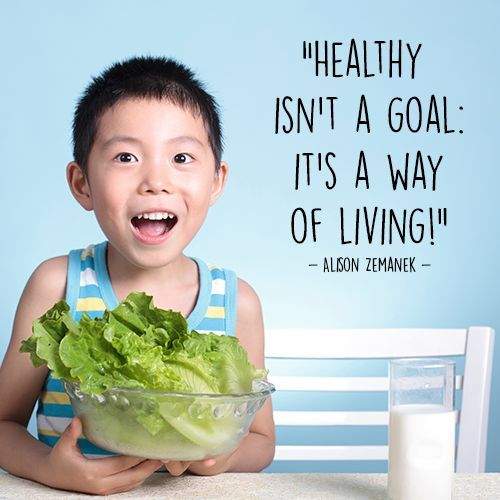 Image result for quotes for kids about healthy eating