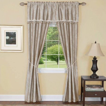 Micro Check Semi Sheer Kitchen Window Curtain 24 Inch 36 Curtains Set Of 2 Swag Pair Or 12 Valance White