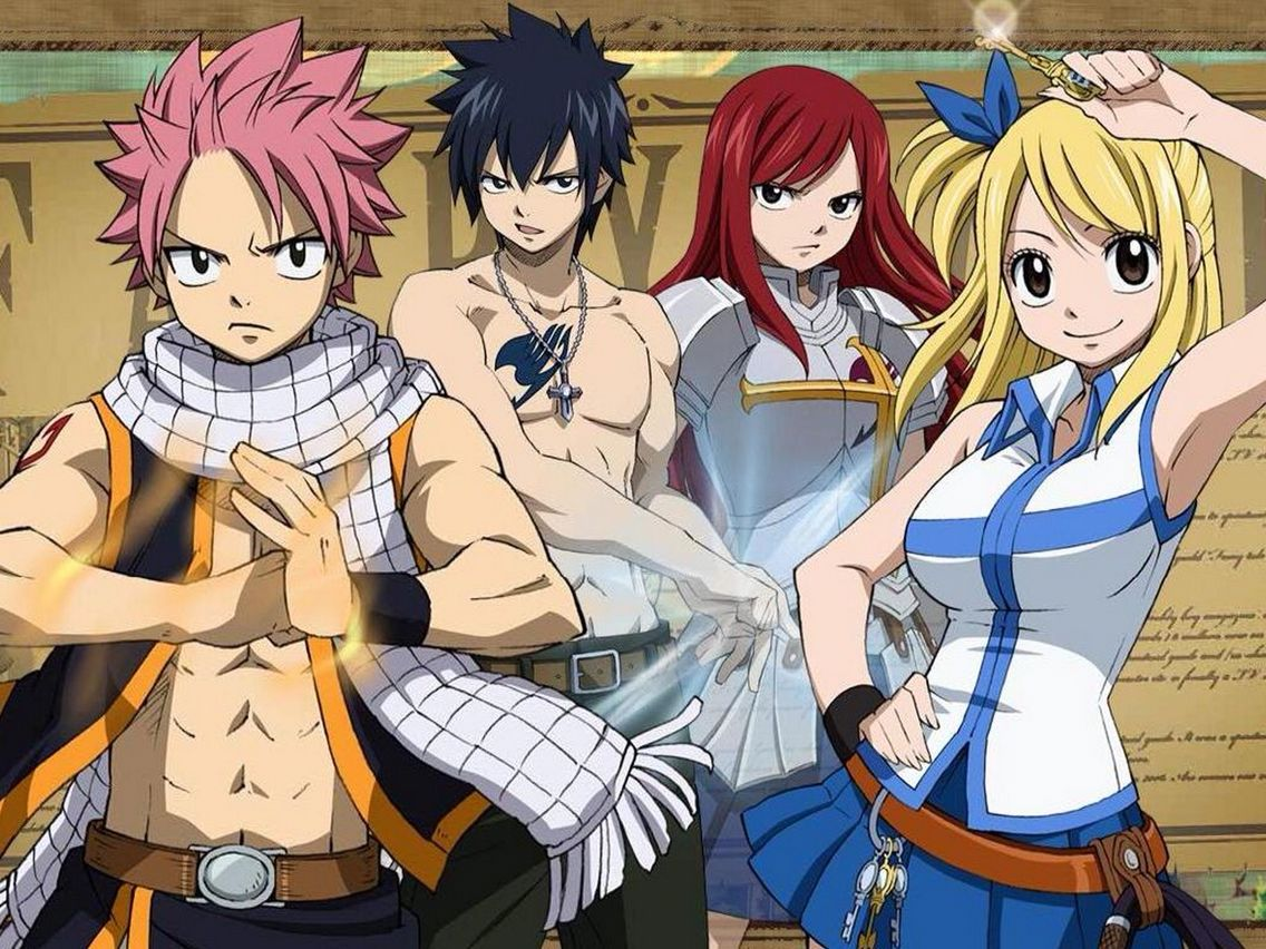 Fairy Tail Fairy tail anime, Fairy tail characters