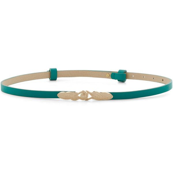 To Wear or Knot To Wear Belt in Aqua ($28) ❤ liked on Polyvore