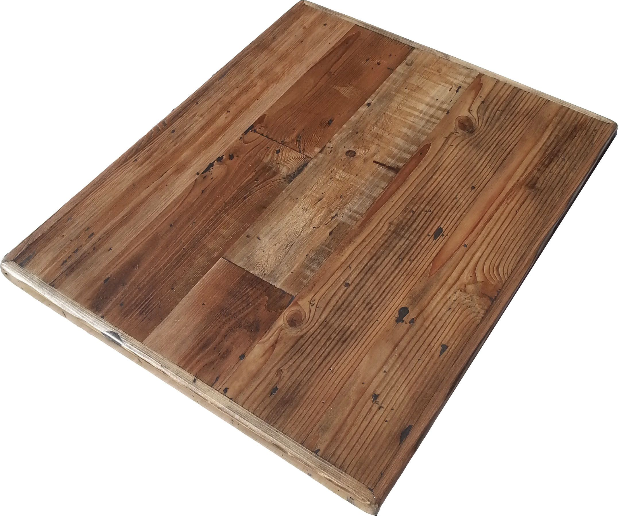 Reclaimed Wood Straight Plank Table Tops Economy Pinterest - Table top for restaurant supply