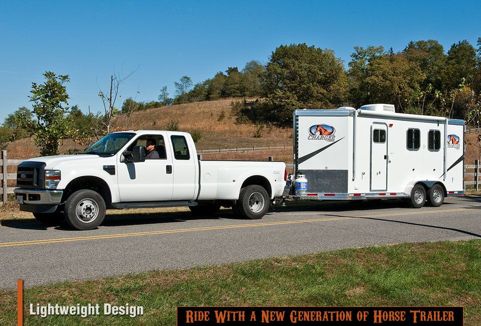 Types of trailers Bumper Pull (Level 2) Horse trailers