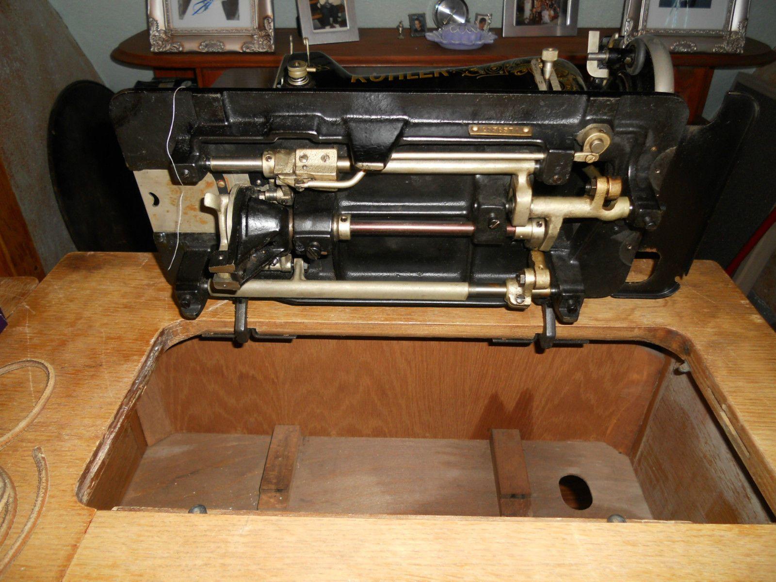 alte zentral spulen n hmaschine veb k hler in in gehren ebay vintage or antique sewing. Black Bedroom Furniture Sets. Home Design Ideas