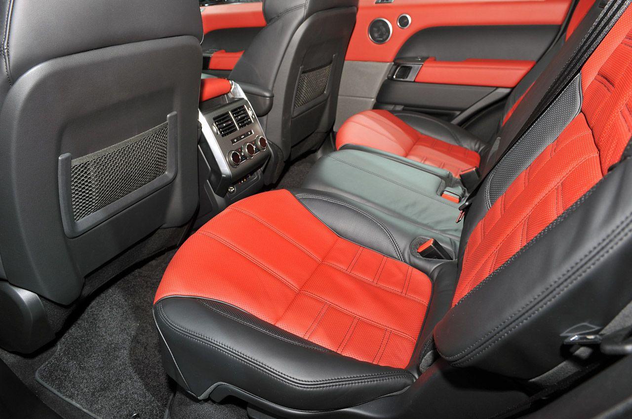 2014 Land Rover Range Rover Sport interior Range rover