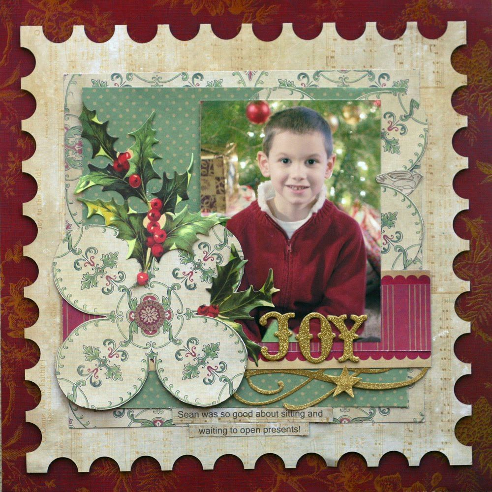 Ideas for Scrapbookers: New Postage Stamp Template!