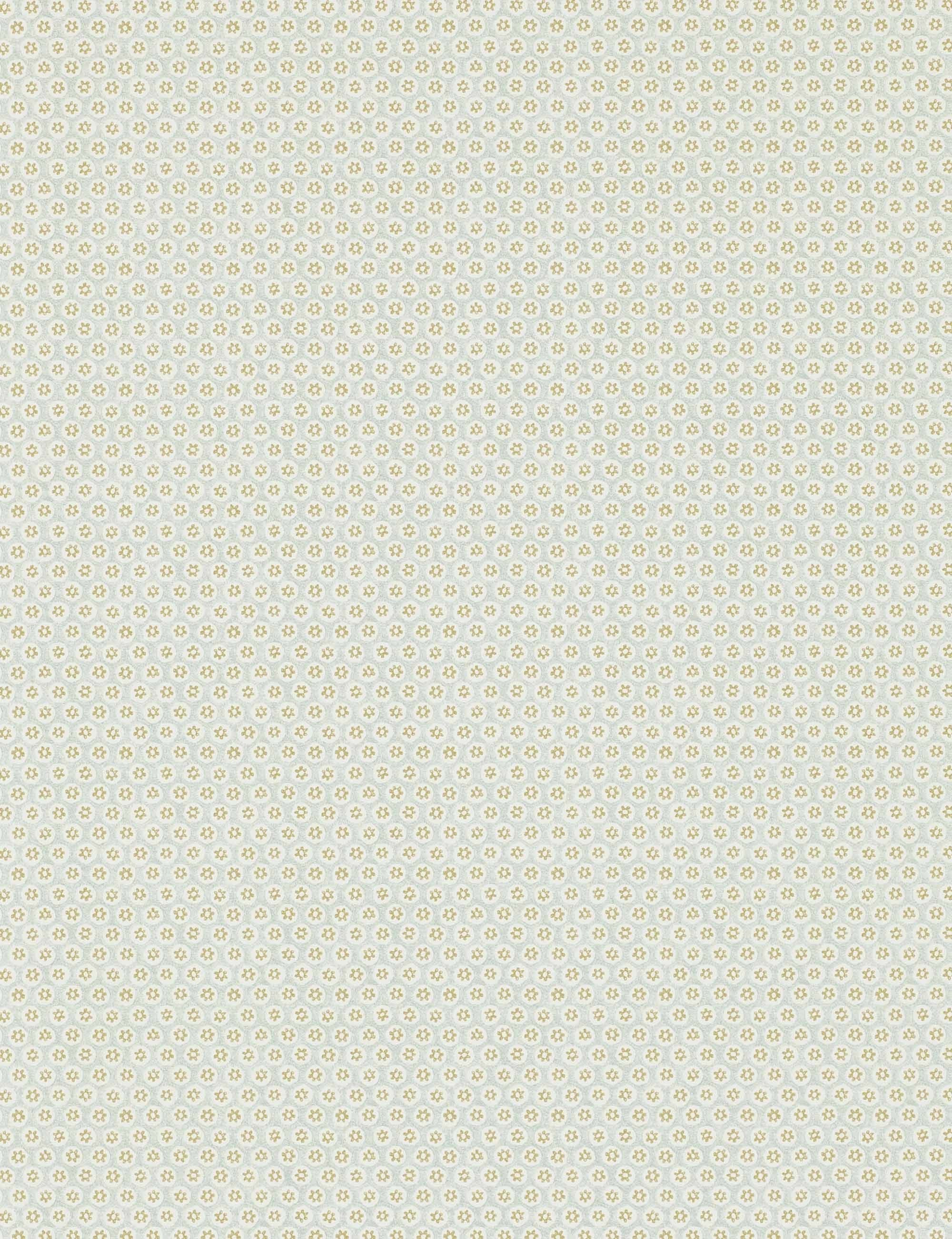 Morris Amp Co Honeycombe Wallpaper Silver Gold In