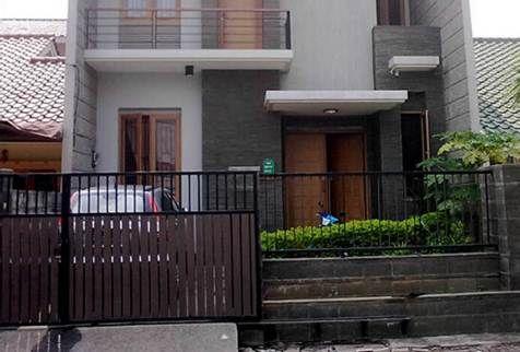 desain pagar rumah minimalis modern | rumah minimalis