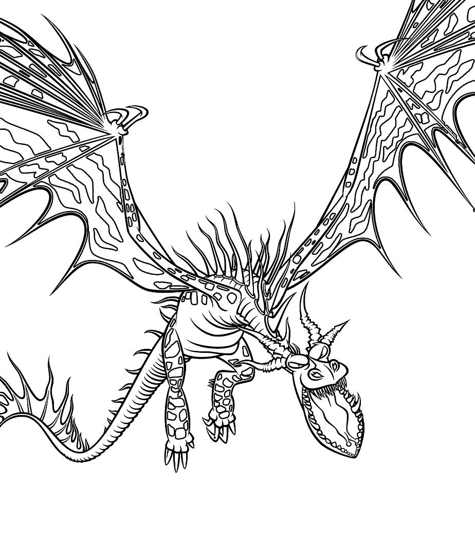 Najczesciej Pobierany Kolorowanki Jezdzcy Smokow Dragon Coloring Page How Train Your Dragon How To Train Your Dragon