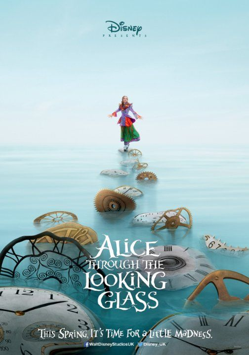 Latest Posters Disney Alice Alice In Wonderland Through The Looking Glass