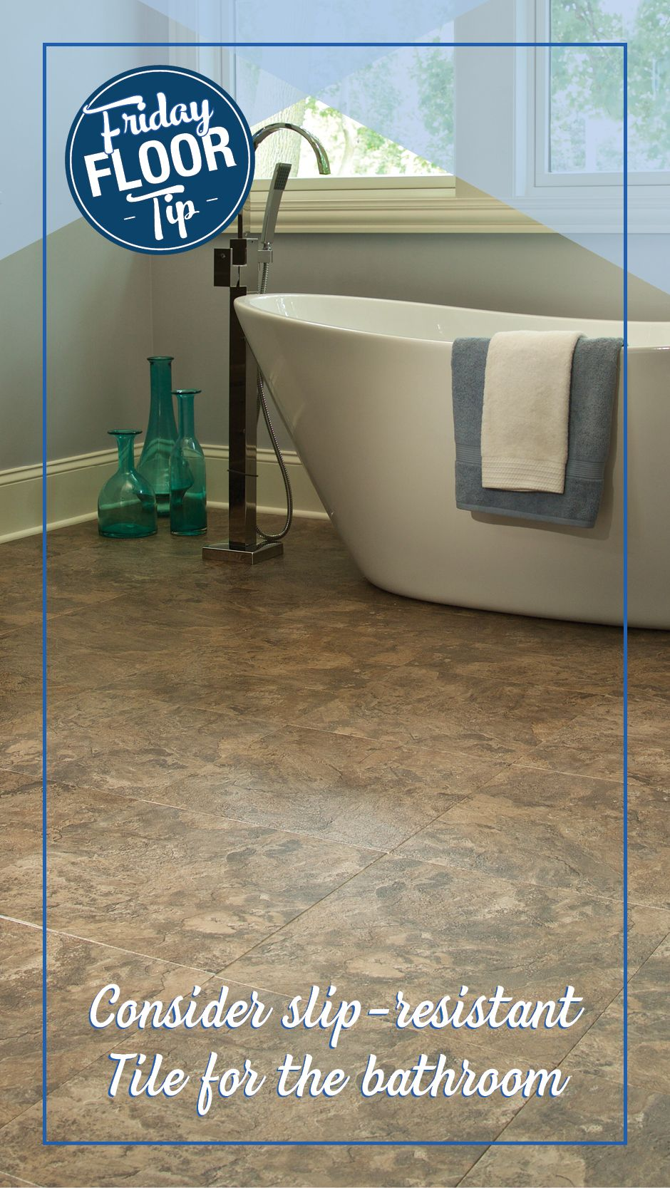 Make Your Home Safer With Slip Resistant Tile Schedule A Free Estimate With Empire Today And Explore Our Variou Slip Resistant Tiles Flooring Flooring Options