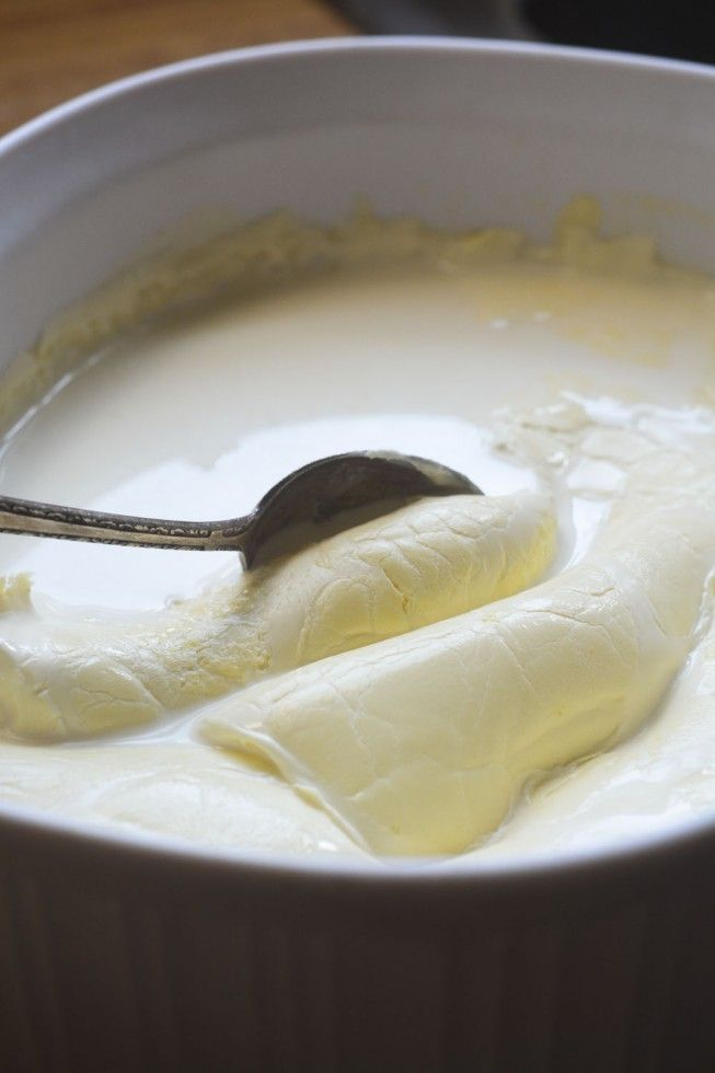 Homemade Clotted Cream The View From Great Island Clotted Cream Recipes Tea Recipes Clotted Cream