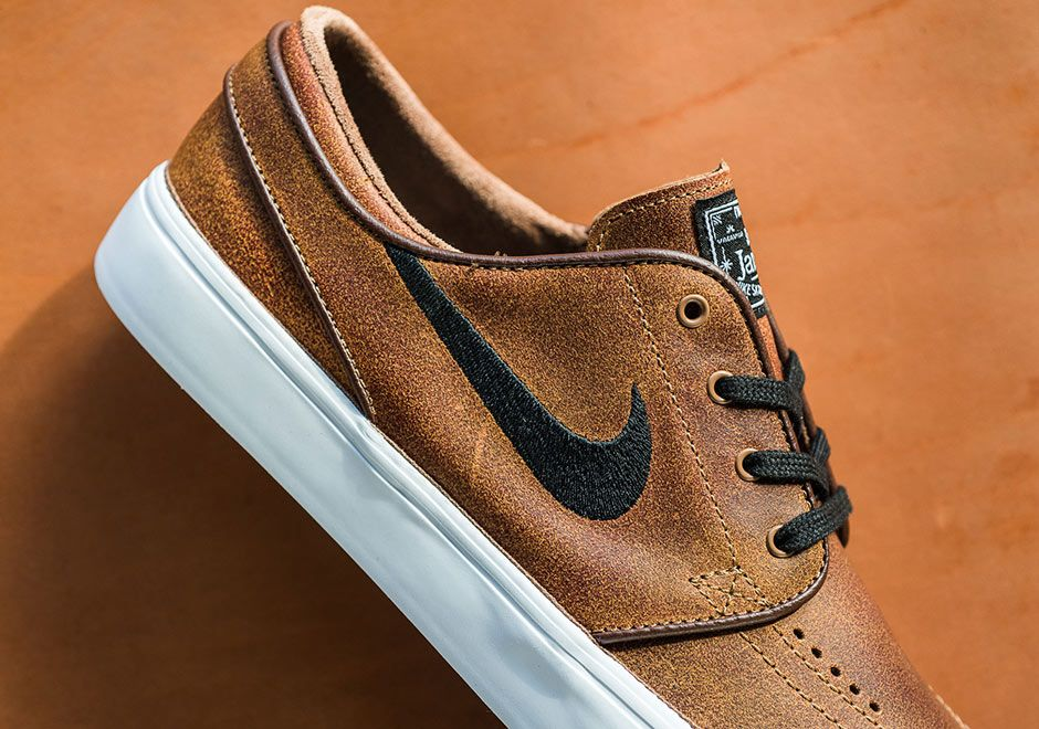 Nike SB Janoski Ale Brown Leather 725074-200 | SneakerNews.com