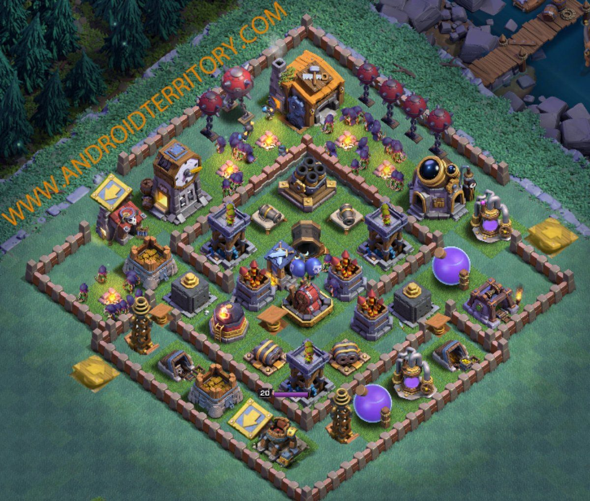 Best Bh7 Base Layouts Layout Clash Of Clans Trophies