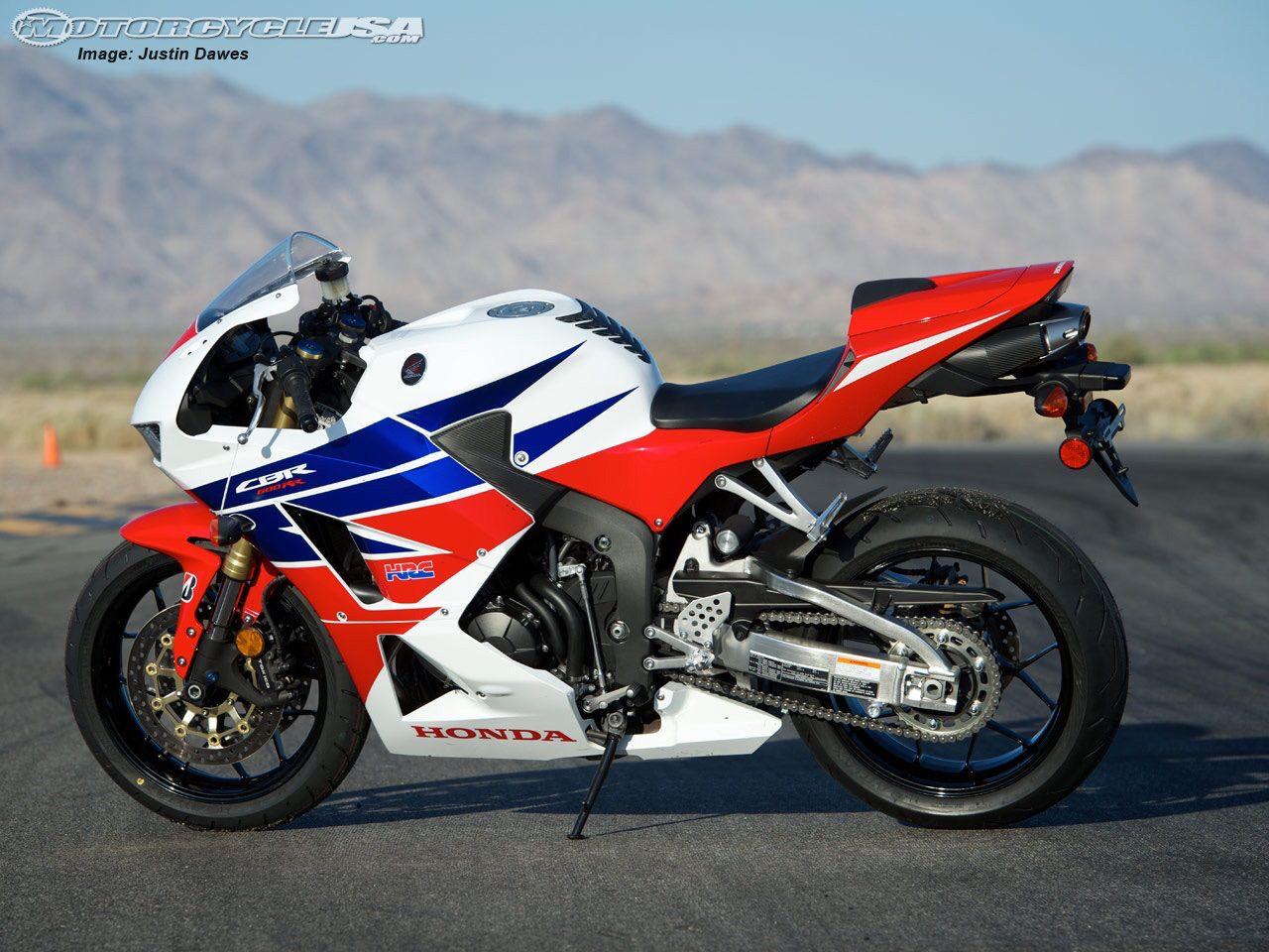 Honda CBR 600RR in America Scheme Honda cbr600rr, Honda