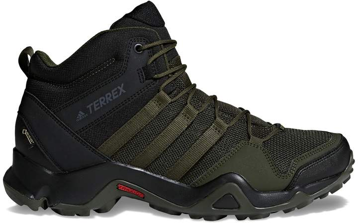adidas Outdoor Terrex AX2R Mid GTX Men's Waterproof Hiking
