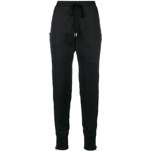high waisted track style trousers - Black Tom Ford 4cpl5yesXm