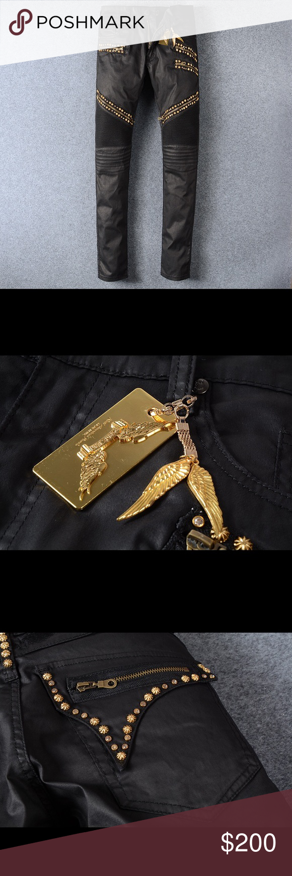 Robin jeans gold tag