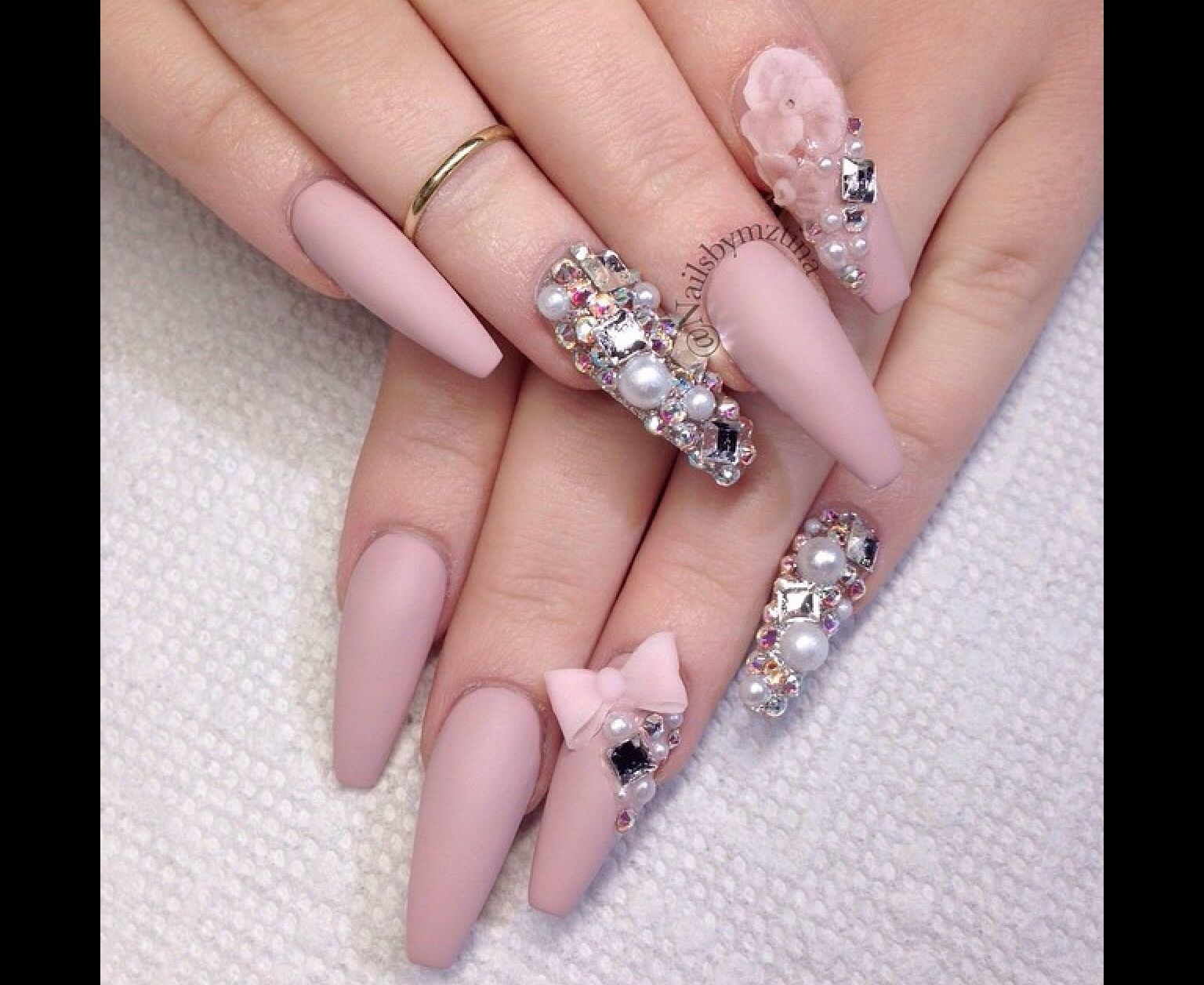 Pin by Ana on Nails | Pinterest | Nail nail, Bling nails and Makeup